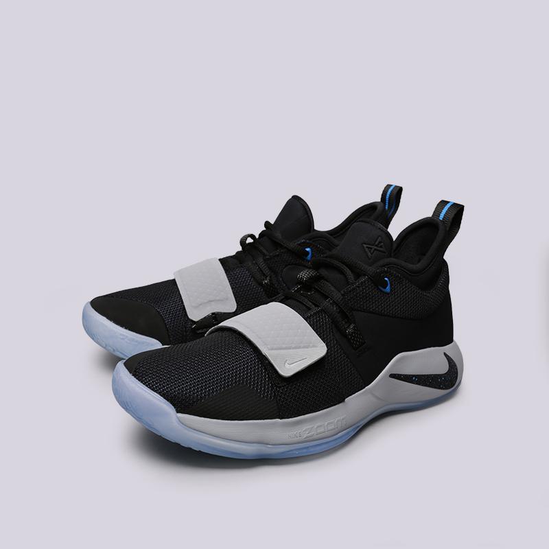 мужские чёрные  кроссовки nike pg 2.5 BQ8452-006 - цена, описание, фото 3
