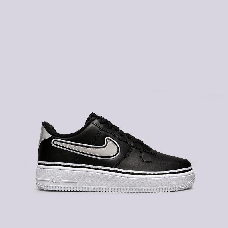 03b76a40 мужские чёрные кроссовки nike air force 1 '07 lv8 sport AJ7748-001 - цена