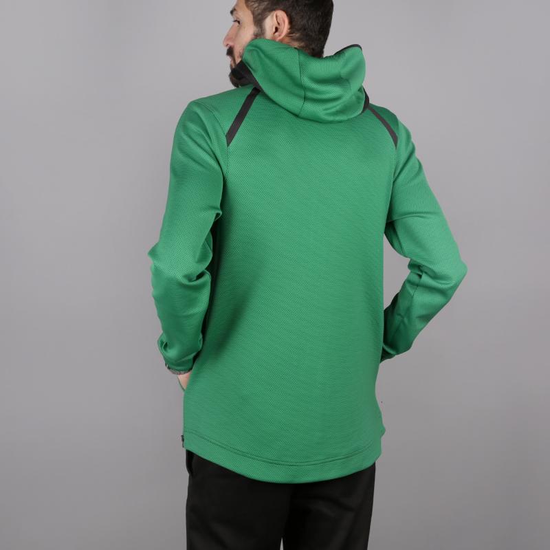 мужскую зелёную  толстовка nike boston celtics therma flex showtime 940114-312 - цена, описание, фото 4