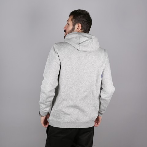 мужскую серую  толстовка nike boston celtics logo hoodie AA3649-063 - цена, описание, фото 4