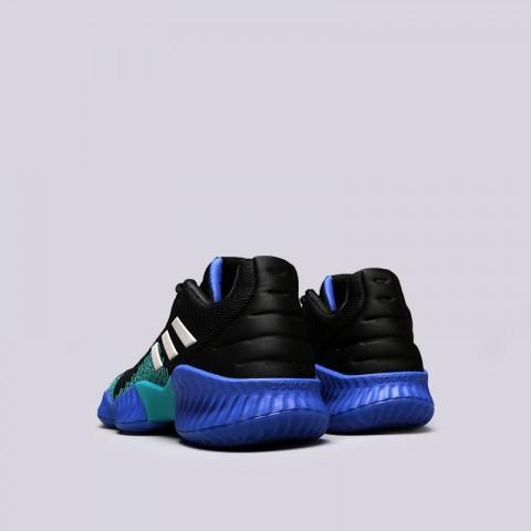 мужские чёрные  кроссовки adidas pro bounce 2018 low AC7427 - цена, описание, фото 3