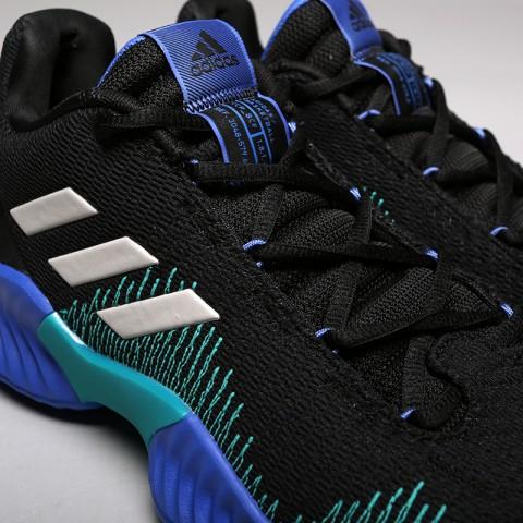 мужские чёрные  кроссовки adidas pro bounce 2018 low AC7427 - цена, описание, фото 5