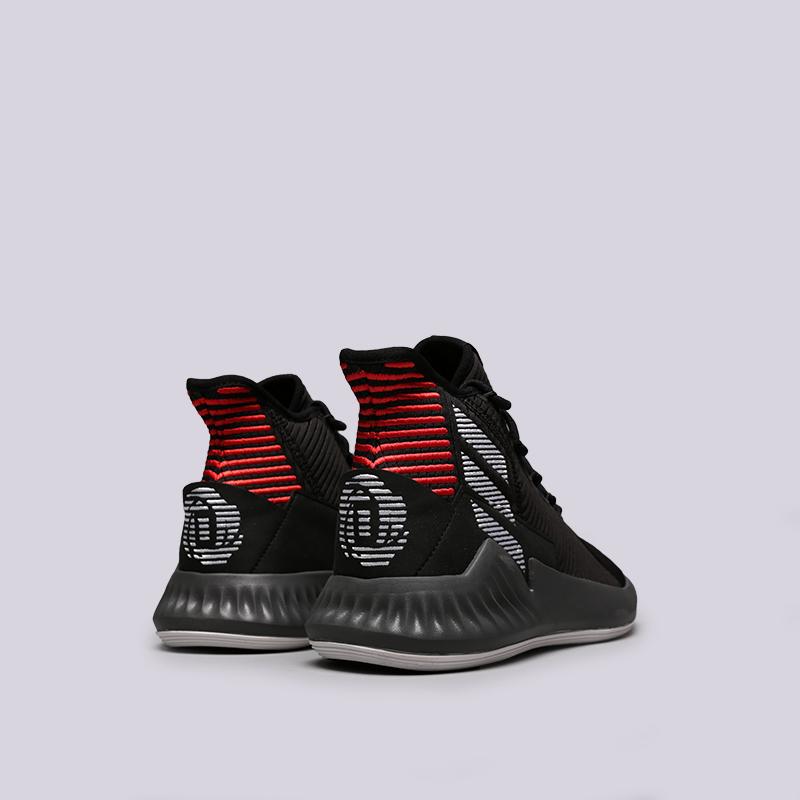 мужские чёрные  кроссовки adidas d rose 9 AQ0039 - цена, описание, фото 4