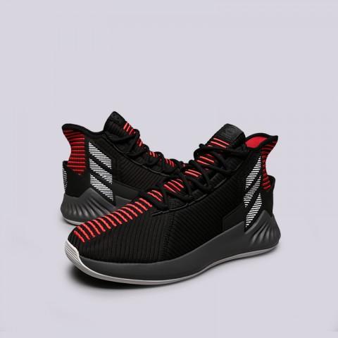 мужские чёрные  кроссовки adidas d rose 9 AQ0039 - цена, описание, фото 3