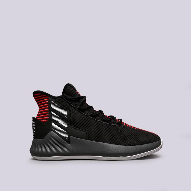 мужские чёрные  кроссовки adidas d rose 9 AQ0039 - цена, описание, фото 1