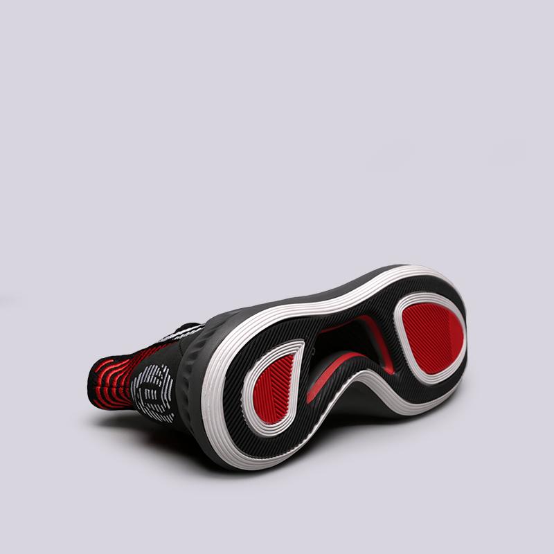 мужские чёрные  кроссовки adidas d rose 9 AQ0039 - цена, описание, фото 2