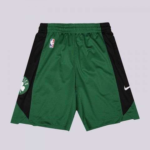 мужские зеленые  шорты nike dry nba practice shorts boston celtics AJ5050-312 - цена, описание, фото 1