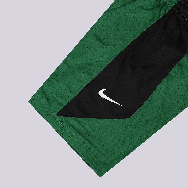 мужские зеленые  шорты nike dry nba practice shorts boston celtics AJ5050-312 - цена, описание, фото 3