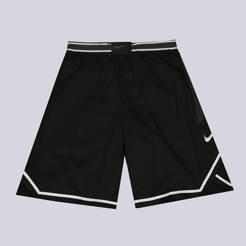 мужские черные  шорты nike vaporknit men's basketball shorts 925795-010 - цена, описание, фото 1