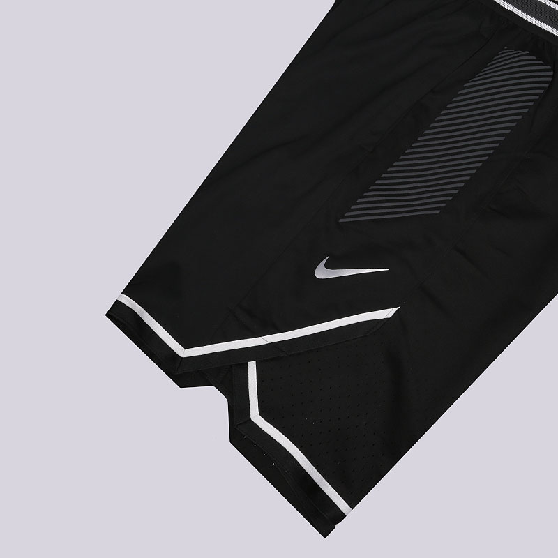 мужские черные  шорты nike vaporknit men's basketball shorts 925795-010 - цена, описание, фото 2