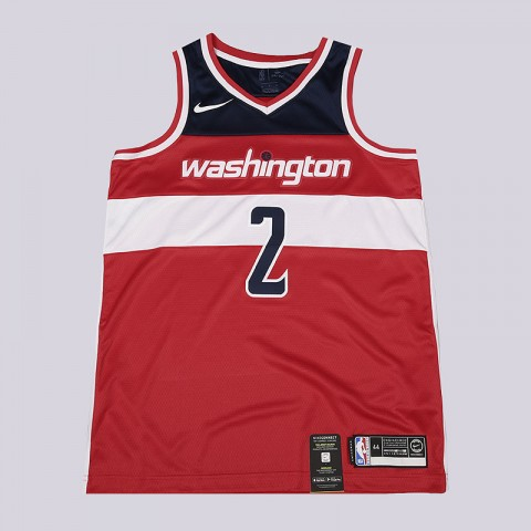 мужскую красную, белую, синюю  майку nike john wall icon edition swingman jersey 864515-657 - цена, описание, фото 1