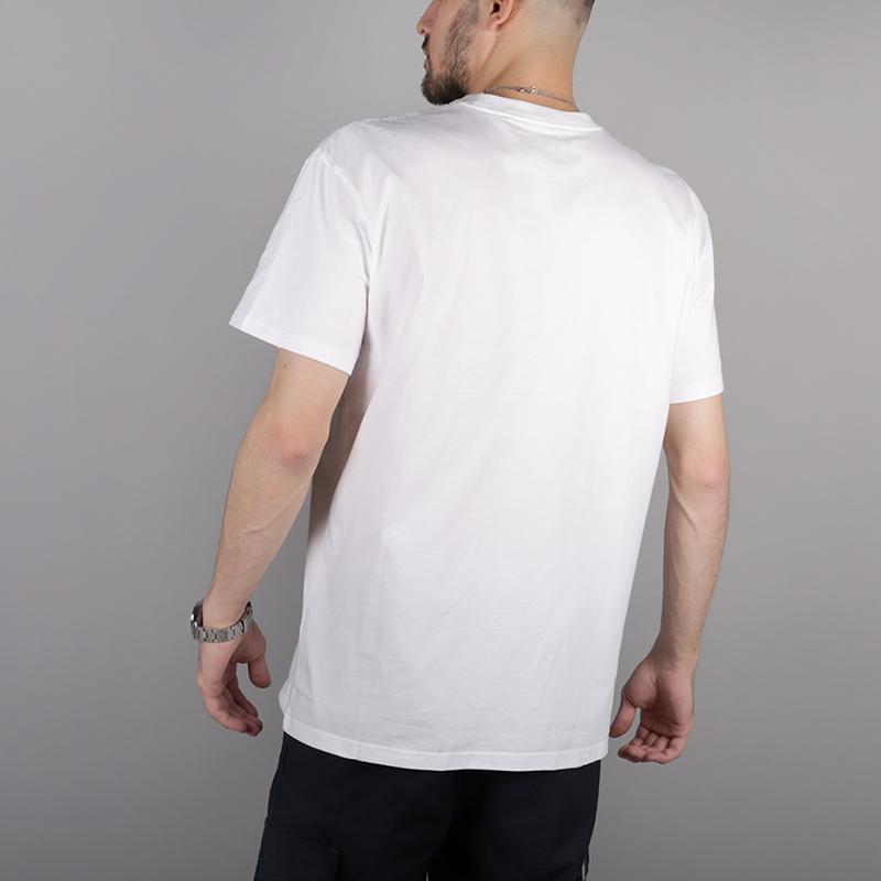 мужскую белую  футболка carhartt wip s/s chase t-shirt i026391-white/gold - цена, описание, фото 4