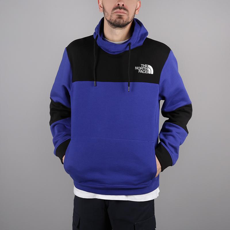 мужскую чёрную, синюю  толстовка the north face himalayan hoodie T93L6i40S - цена, описание, фото 1