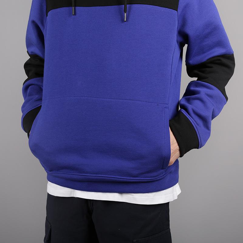 мужскую чёрную, синюю  толстовка the north face himalayan hoodie T93L6i40S - цена, описание, фото 2