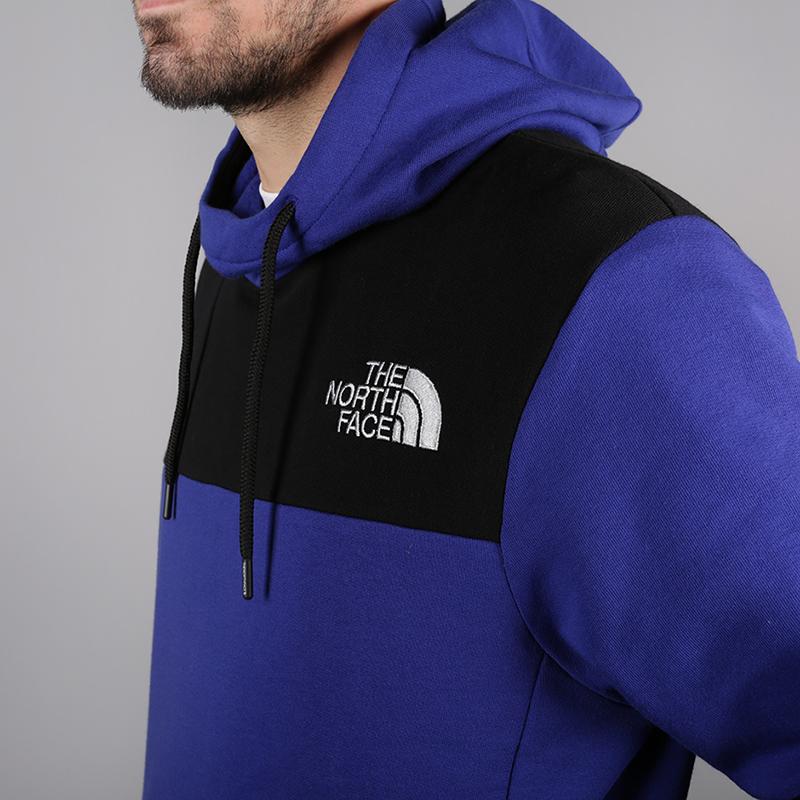мужскую чёрную, синюю  толстовка the north face himalayan hoodie T93L6i40S - цена, описание, фото 4