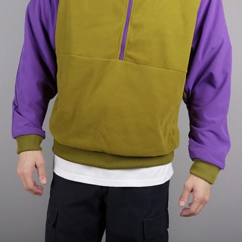 мужскую зелёную, фиолетовую  толстовка the north face ex quarter zip fleece T93L2H6JP - цена, описание, фото 4