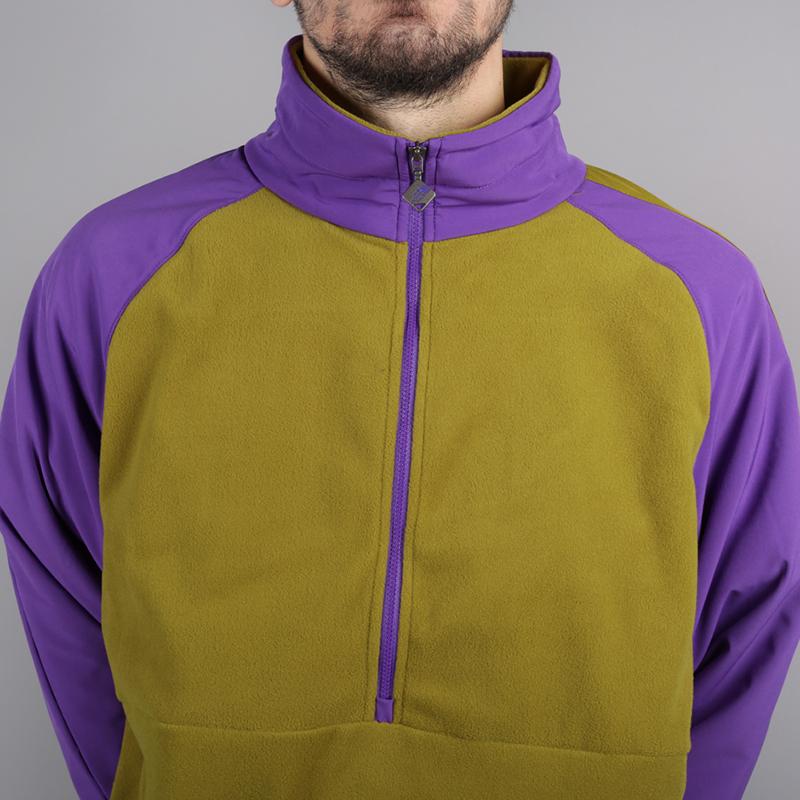 мужскую зелёную, фиолетовую  толстовка the north face ex quarter zip fleece T93L2H6JP - цена, описание, фото 3