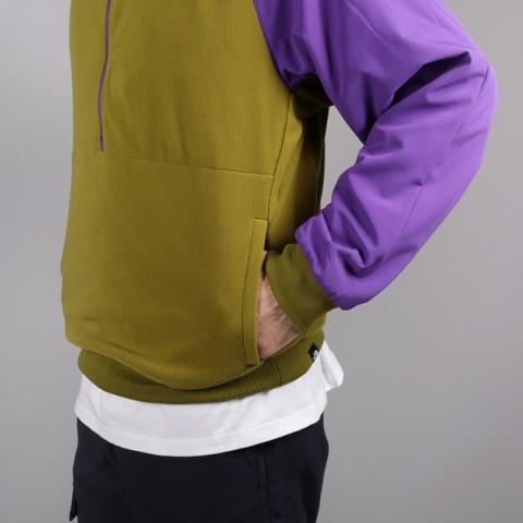 мужскую зелёную, фиолетовую  толстовка the north face ex quarter zip fleece T93L2H6JP - цена, описание, фото 5