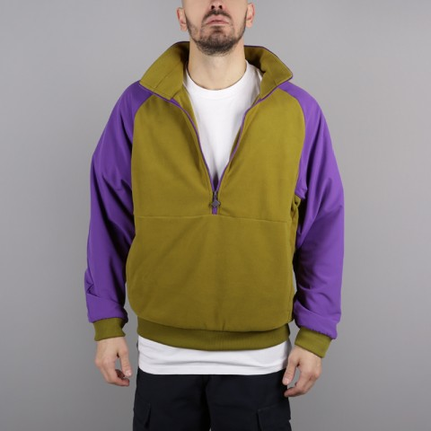 мужскую зелёную, фиолетовую  толстовка the north face ex quarter zip fleece T93L2H6JP - цена, описание, фото 2