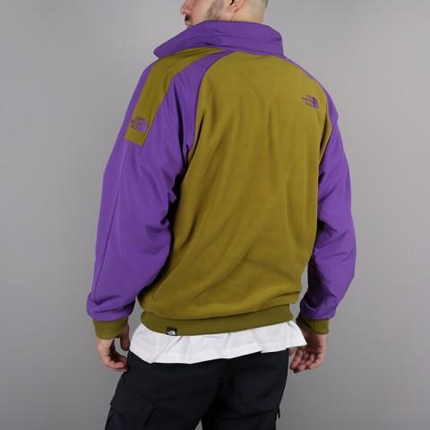 мужскую зелёную, фиолетовую  толстовка the north face ex quarter zip fleece T93L2H6JP - цена, описание, фото 6