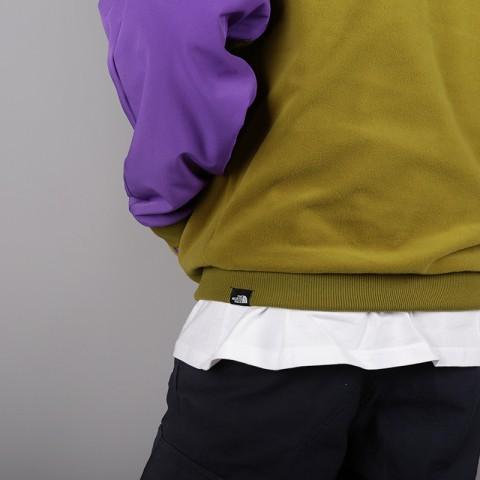 мужскую зелёную, фиолетовую  толстовка the north face ex quarter zip fleece T93L2H6JP - цена, описание, фото 7
