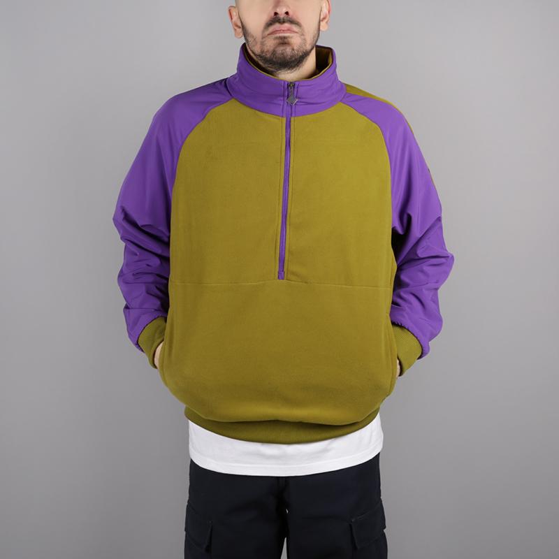 мужскую зелёную, фиолетовую  толстовка the north face ex quarter zip fleece T93L2H6JP - цена, описание, фото 1