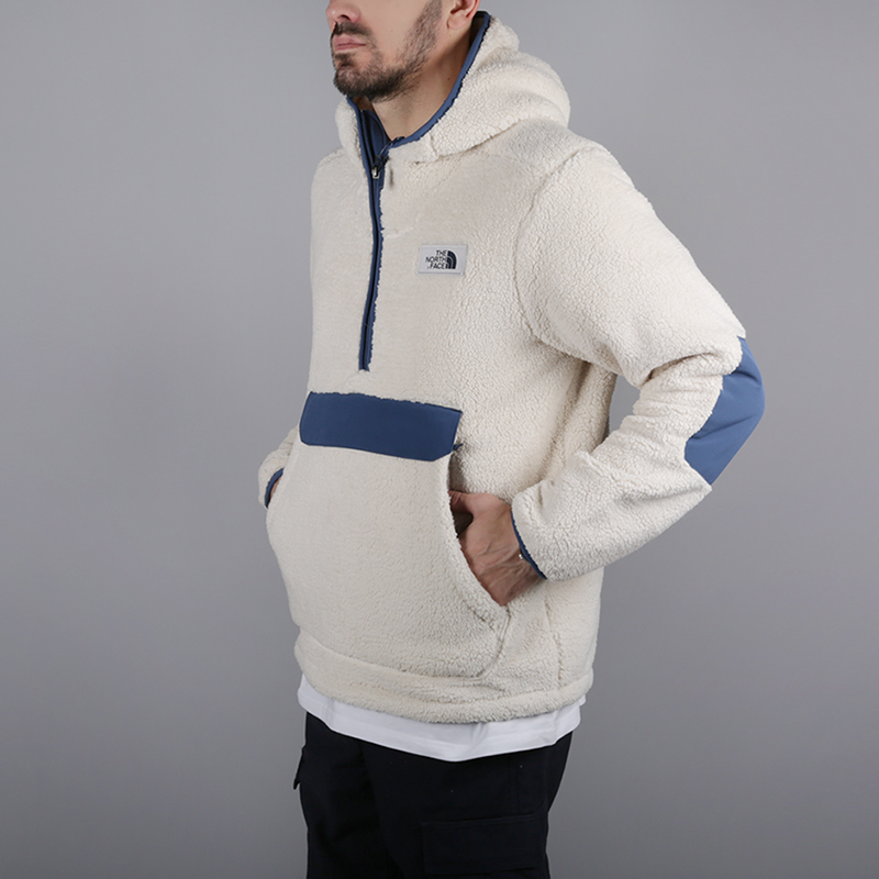 мужскую бежевую  толстовка the north face campshire pullover hoodie T933QV6MW - цена, описание, фото 4