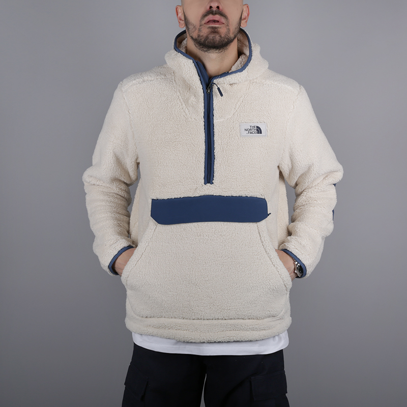 мужскую бежевую  толстовка the north face campshire pullover hoodie T933QV6MW - цена, описание, фото 1