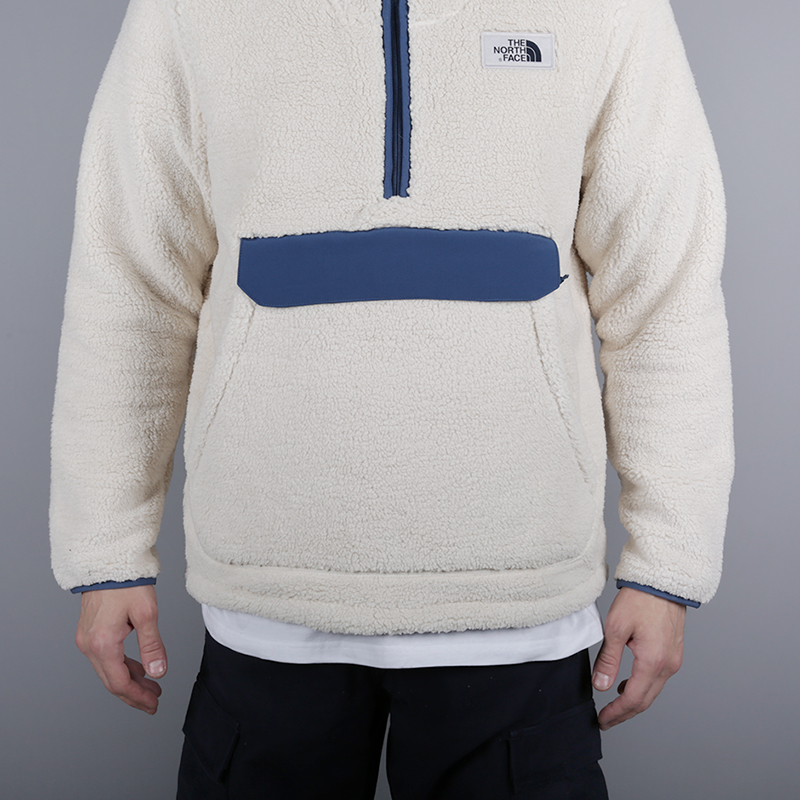 мужскую бежевую  толстовка the north face campshire pullover hoodie T933QV6MW - цена, описание, фото 2