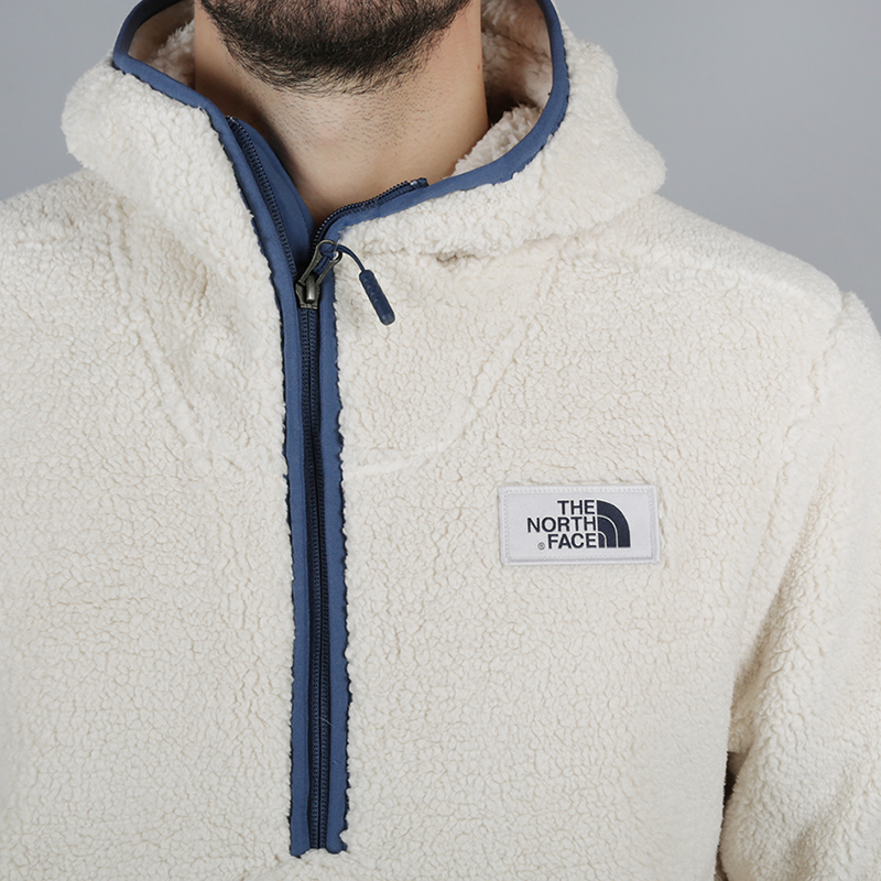 мужскую бежевую  толстовка the north face campshire pullover hoodie T933QV6MW - цена, описание, фото 3