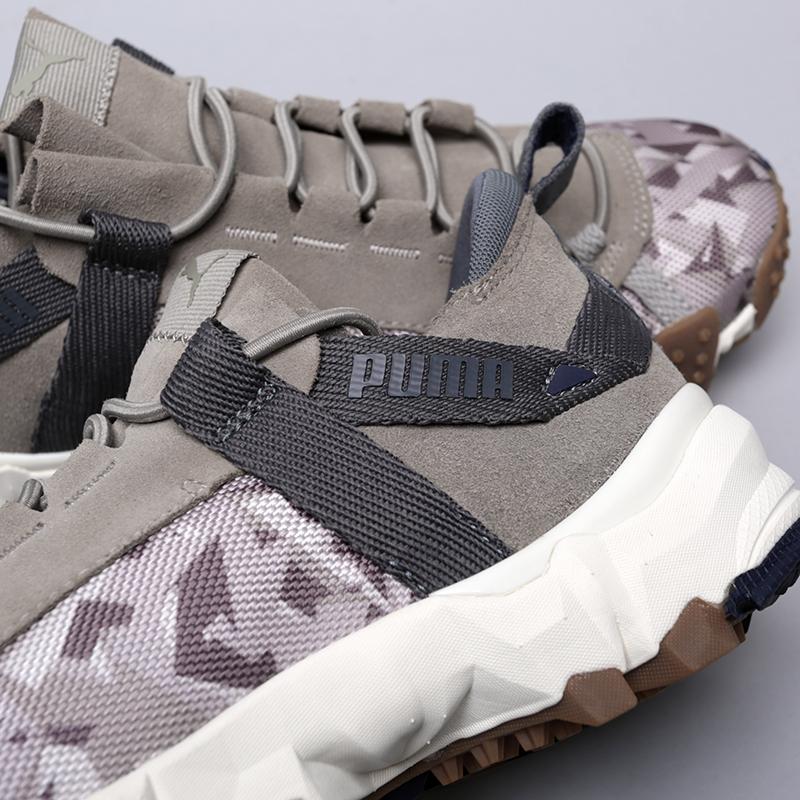 мужские бежевые  кроссовки puma trailfox camo 36678702 - цена, описание, фото 6