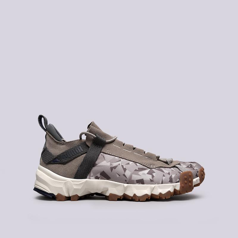 мужские бежевые  кроссовки puma trailfox camo 36678702 - цена, описание, фото 1