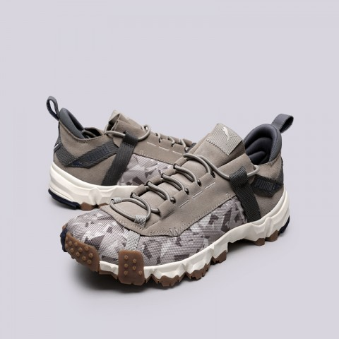 мужские бежевые  кроссовки puma trailfox camo 36678702 - цена, описание, фото 3