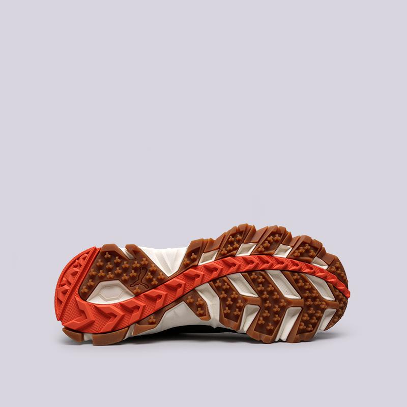 мужские зелёные  кроссовки puma trailfox camo 36678701 - цена, описание, фото 3