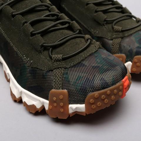 мужские зелёные  кроссовки puma trailfox camo 36678701 - цена, описание, фото 5
