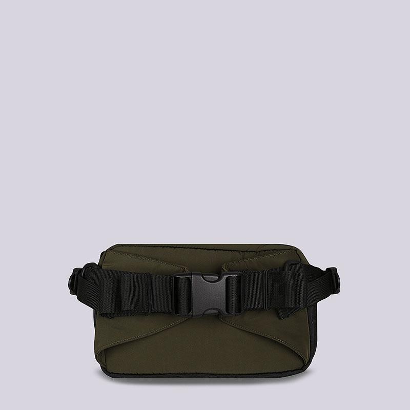 961306c8c6f7 зеленую, черную сумка на пояс carhartt wip military hip bag  I024252-cypress/blk