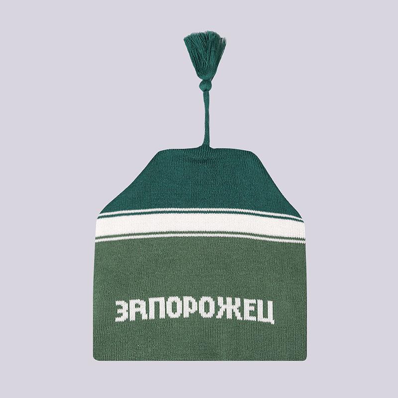 зеленую  шапка запорожец heritage петушок Петушок-зел - цена, описание, фото 1
