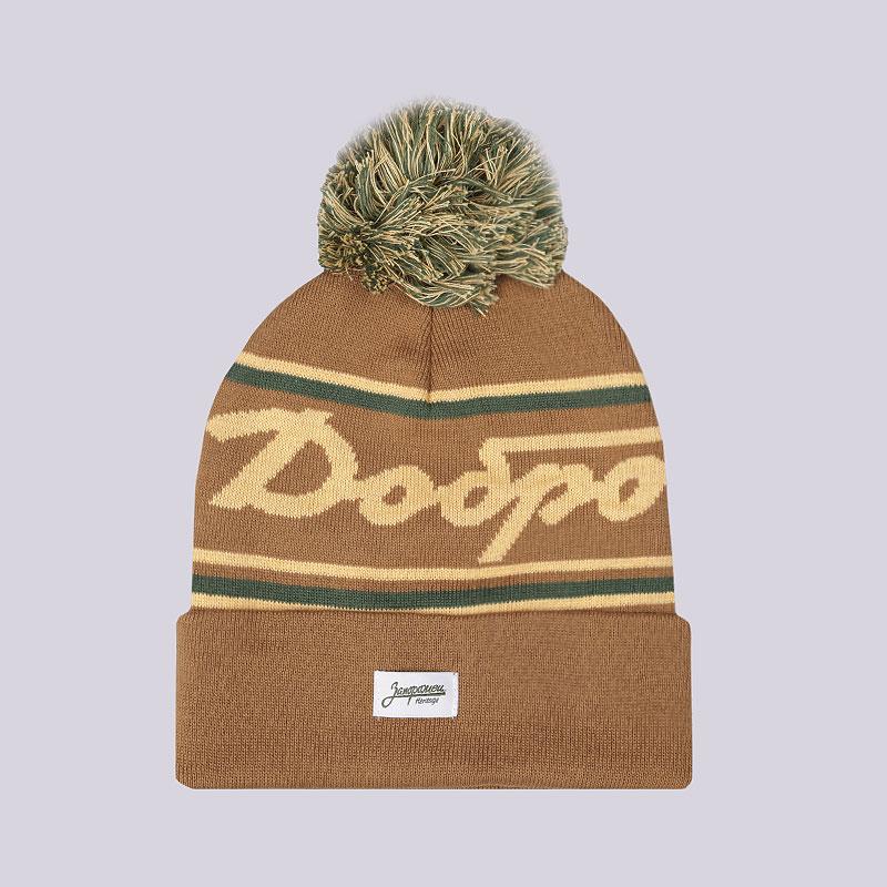 бежевую  шапка запорожец heritage добро Добро-корич - цена, описание, фото 1