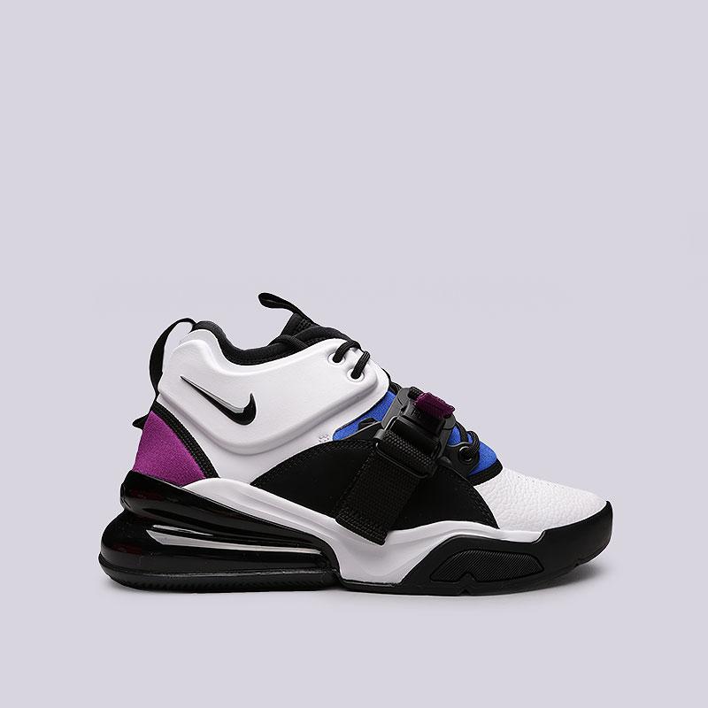 18483ae4 мужские белые, черные, синие, фиолетовые кроссовки nike air force 270  AH6772-101