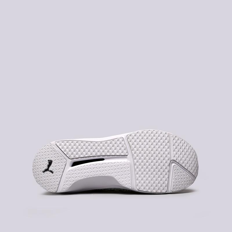 женские белые  кроссовки puma fenty trainer 18919302 - цена, описание, фото 2