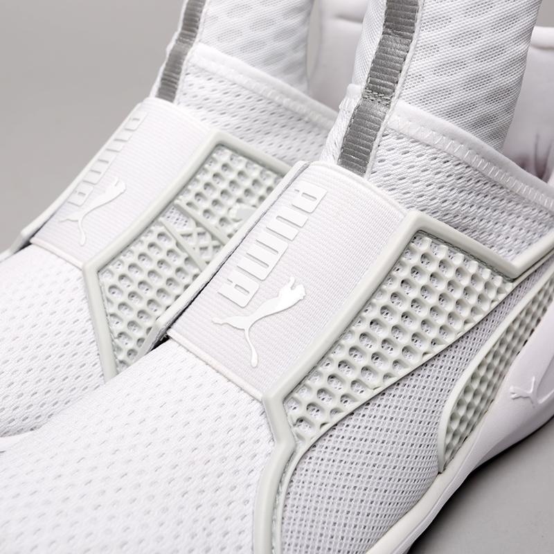 женские белые  кроссовки puma fenty trainer 18919302 - цена, описание, фото 5