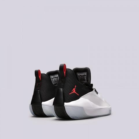 мужские белые  кроссовки jordan jumpman hustle AQ0397-100 - цена, описание, фото 4