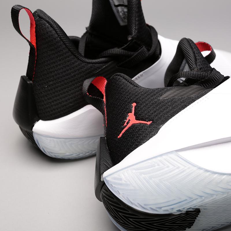 мужские белые  кроссовки jordan jumpman hustle AQ0397-100 - цена, описание, фото 5