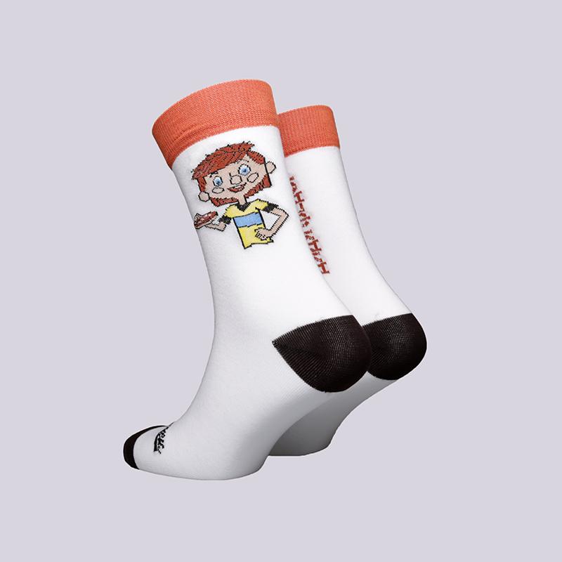 мужские белые  носки запорожец heritage дядя фёдор Дядя Федор-18-бел - цена, описание, фото 2