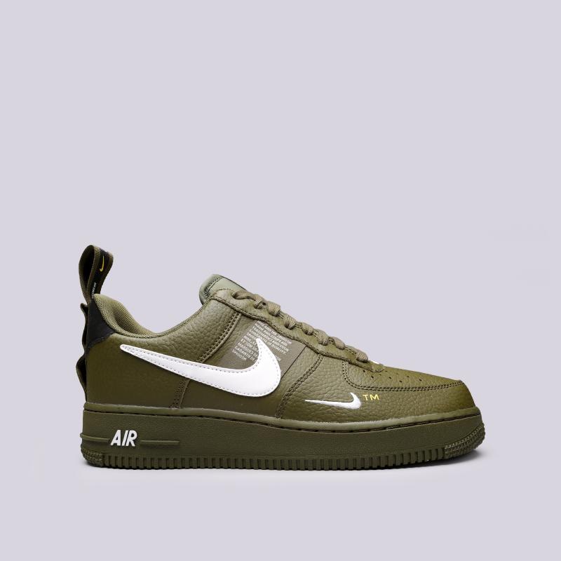 the best attitude 04cf8 7c465 мужские зелёные кроссовки nike air force 1  07 lv8 utility AJ7747-300 - цена