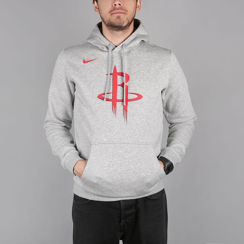 Толстовка Nike Houston Rockets Logo NBA Hoodie от Streetball