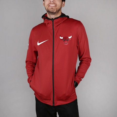 Толстовка Nike Chicago Bulls Therma Flex Showtime NBA Hoodie
