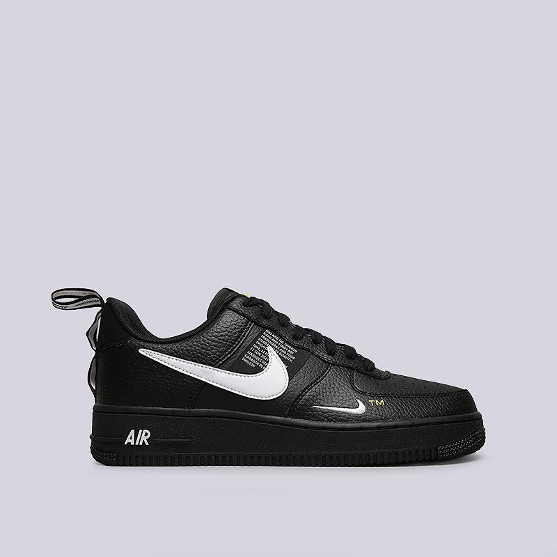 62a25fa4 мужские черные кроссовки nike air force 1 `07 lv8 utility AJ7747-001 - цена