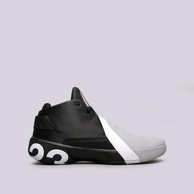 мужские чёрные, серые  кроссовки jordan ultra fly 3 AR0044-001 - цена, описание, фото 1