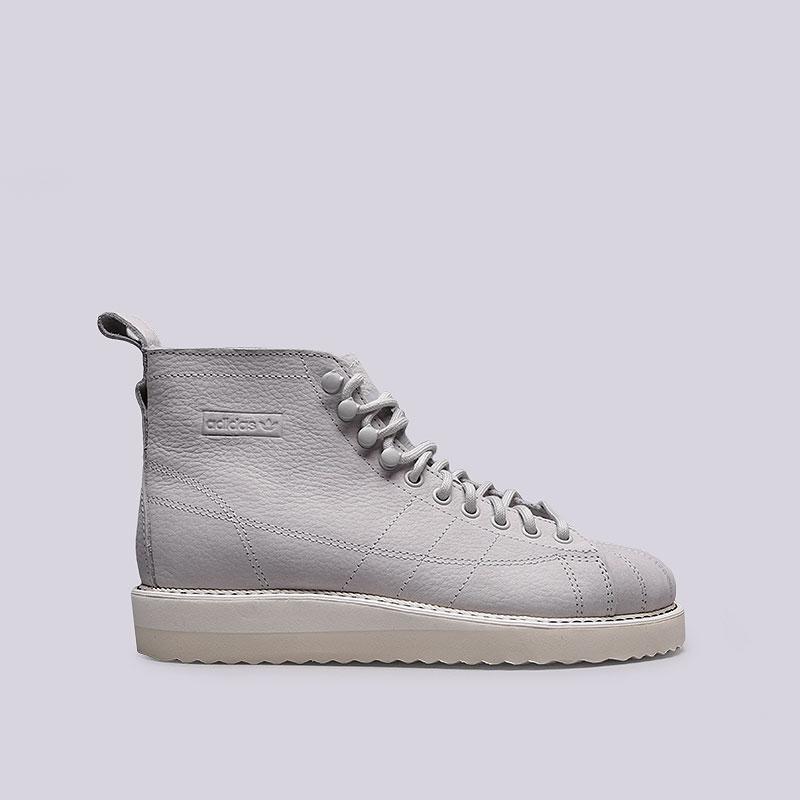 Кроссовки adidas, Superstar Boot W, Серый